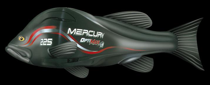 Photo-Illustration and Retouching - Mercury Marine OptiMax Engines