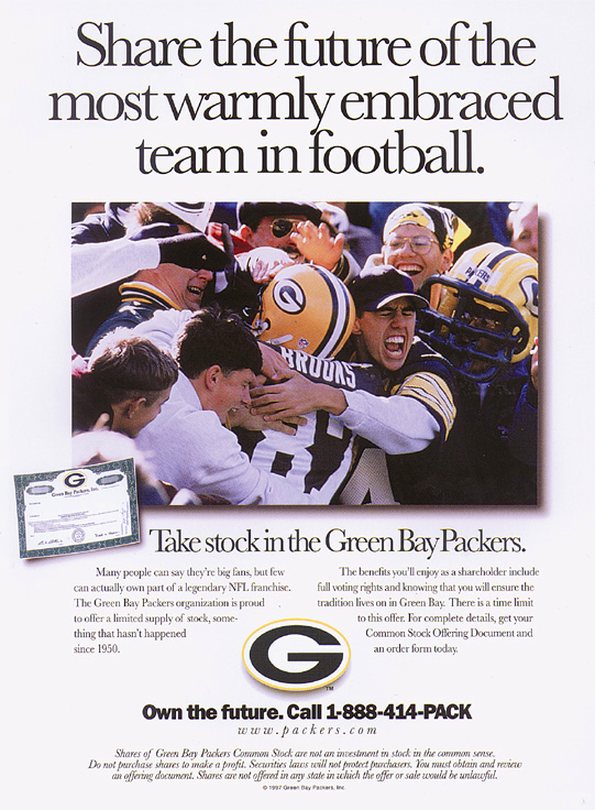 Print Layout, Photo Editing - The Green Bay Packers